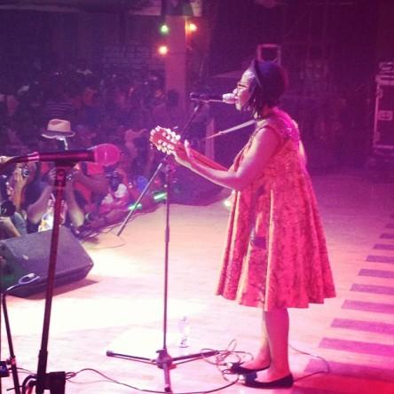 Asa and Chidinma Live at Felabration 2012